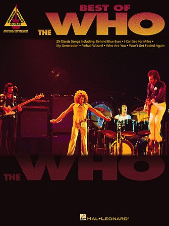 Best of The Who - Guitar Recorded Versions
