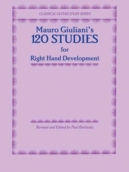 M Giuliani's 120 Studies for Right Hand