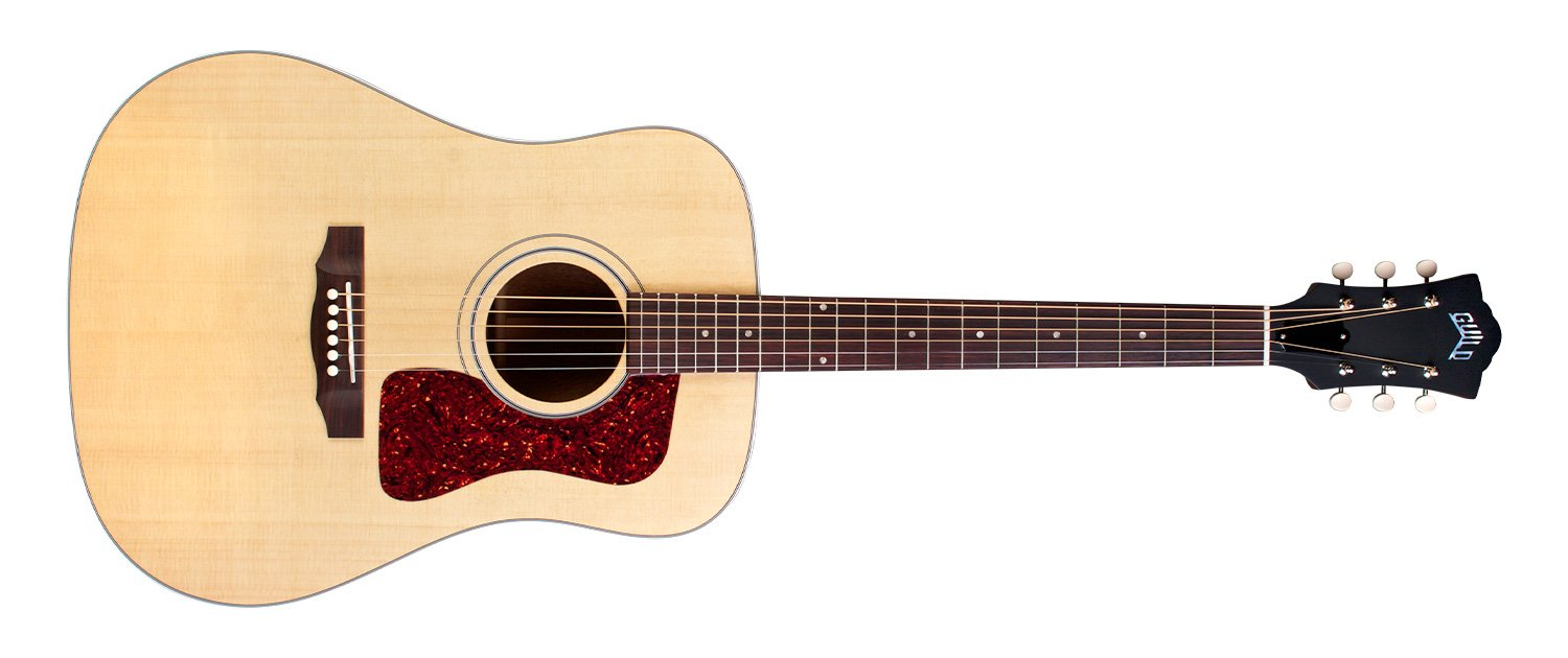 Guild D-40 acoustic w/ hardshell case. USA-made!