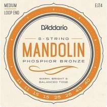 D'Addario  EJ Mandolin Strings Phosphor Bronze