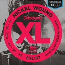 D'Addario EXL157 Baritone Strings 14-68