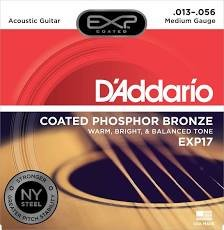 D'Addario EXP Coated Mandolin Strings Phosphor Bronze