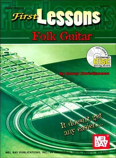 First Lessons: Folk Guitar (Book/CD)