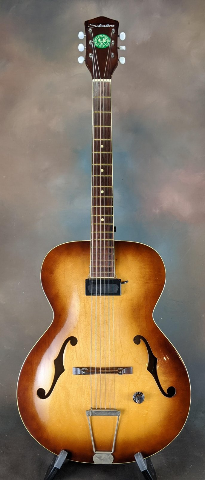 '60s Silvertone N-4 Archtop