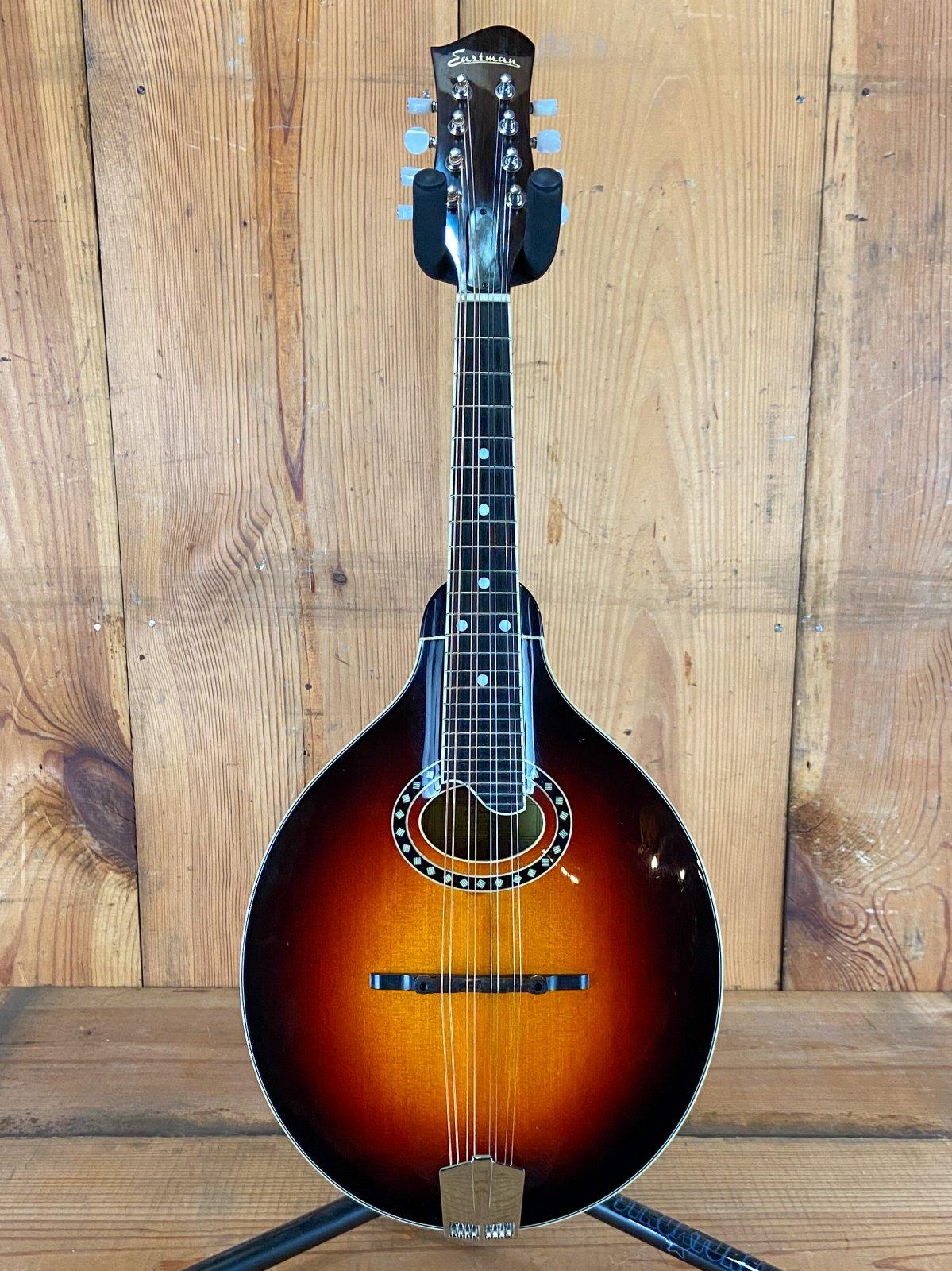Used Eastman MD504 Oval Hole A-Style Mandolin