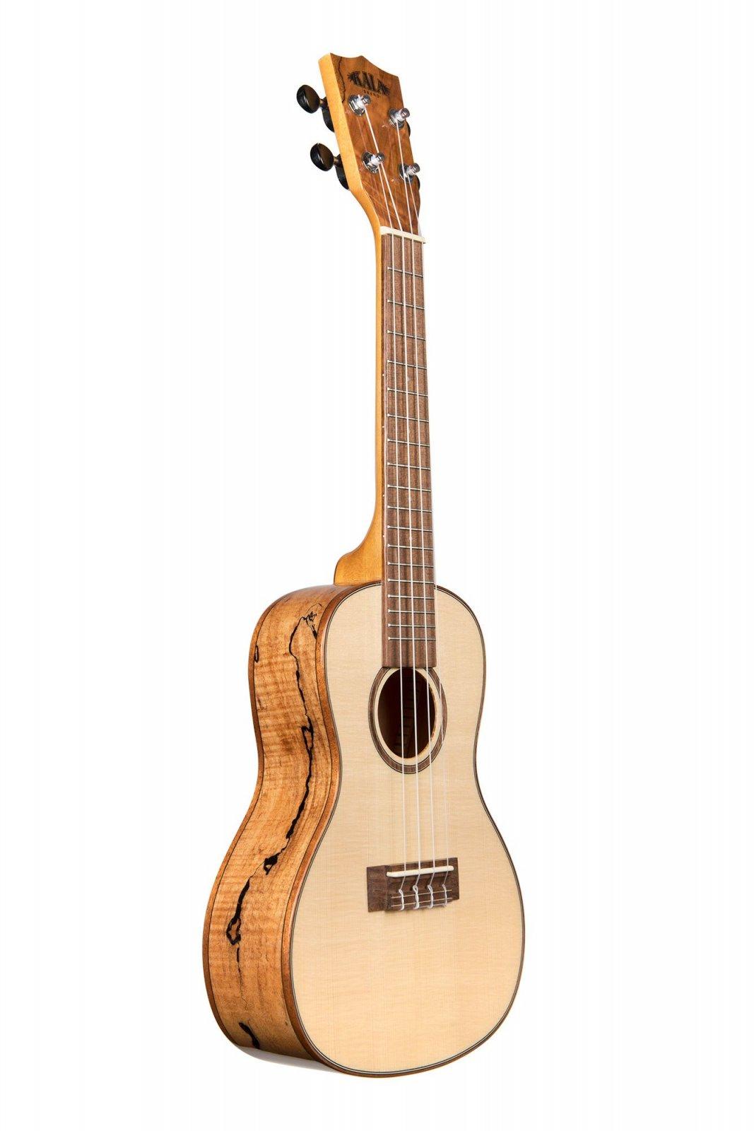 Kala KA-FMCG Concert Solid Spruce/Flame Maple