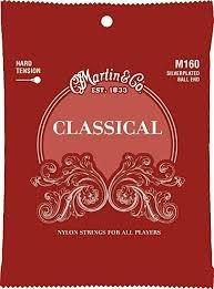 Martin M160 Classical Nylon Ball End Silver