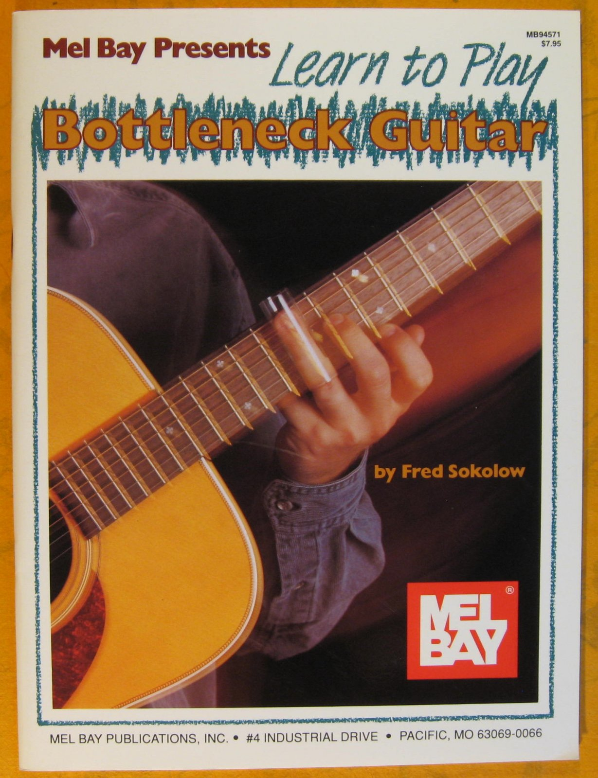 Learn to Play Bottleneck Guitar - Book Only