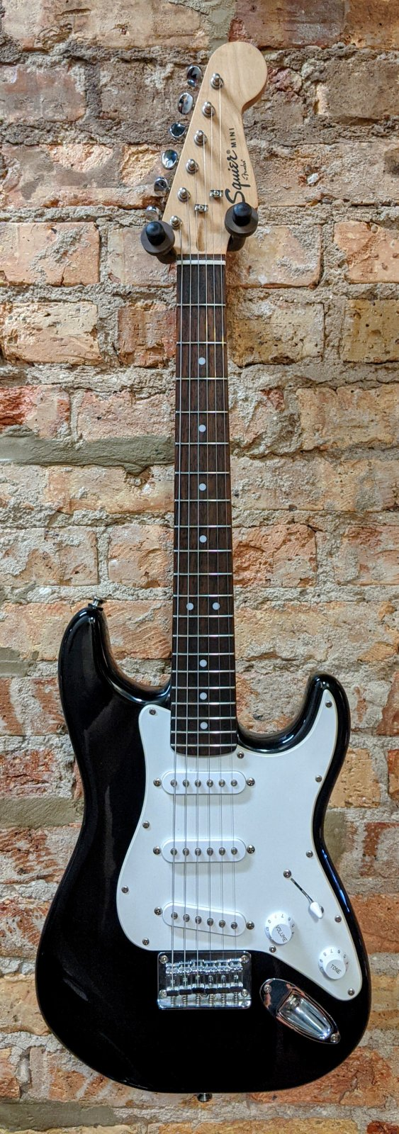 Used Squier Mini Stratocaster V1 - Black