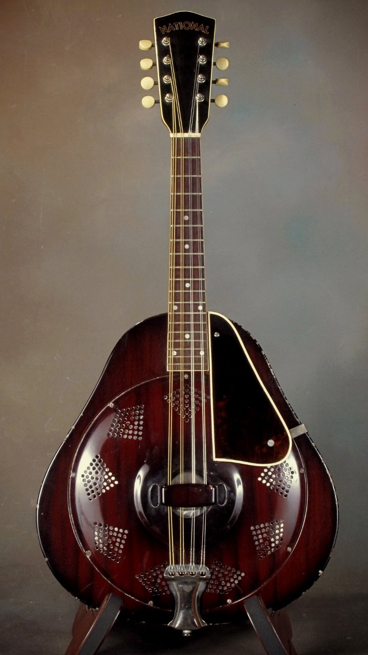 1936 National Triolian Mandolin