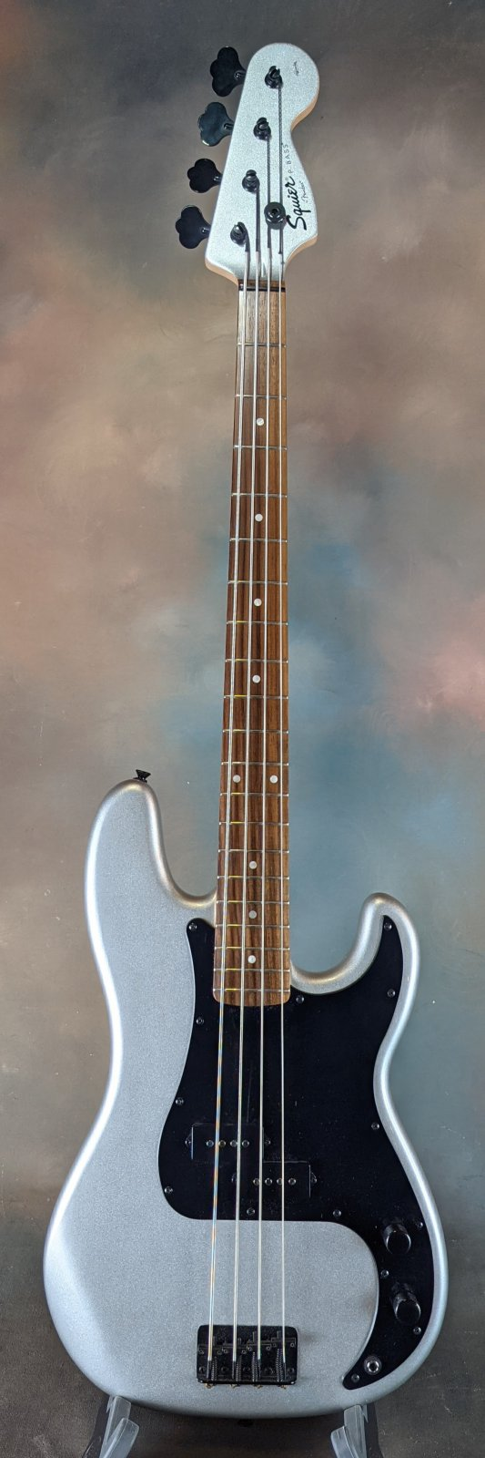 Used Squier Affinity P Bass - Limited Ed Black Hardware!