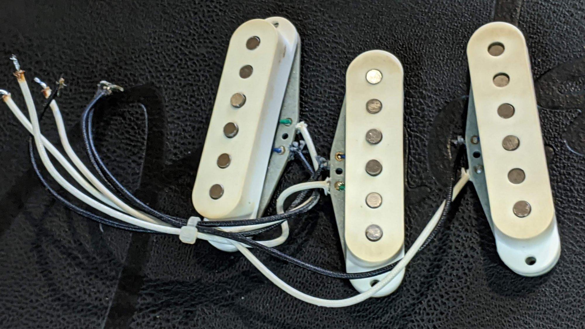 Tokai Silver Star Strat-Style Pickups