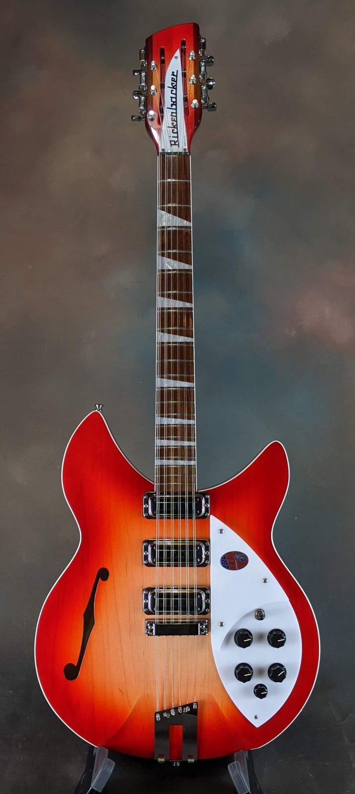 Rickenbacker 1993 Plus 12-String - Fireglo
