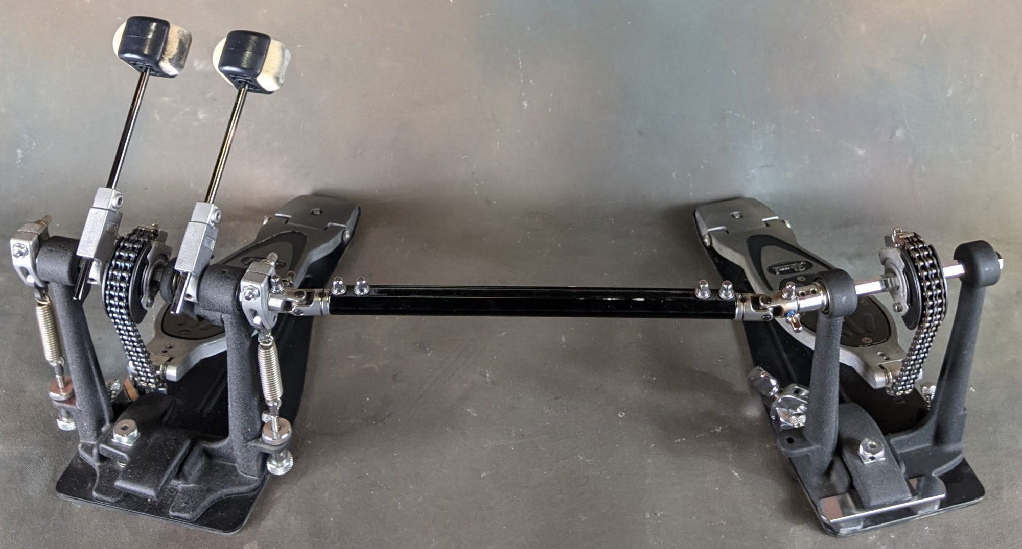 Used Pearl 2002C PowerShifter Eliminator Double Bass Drum Pedal w/Bag
