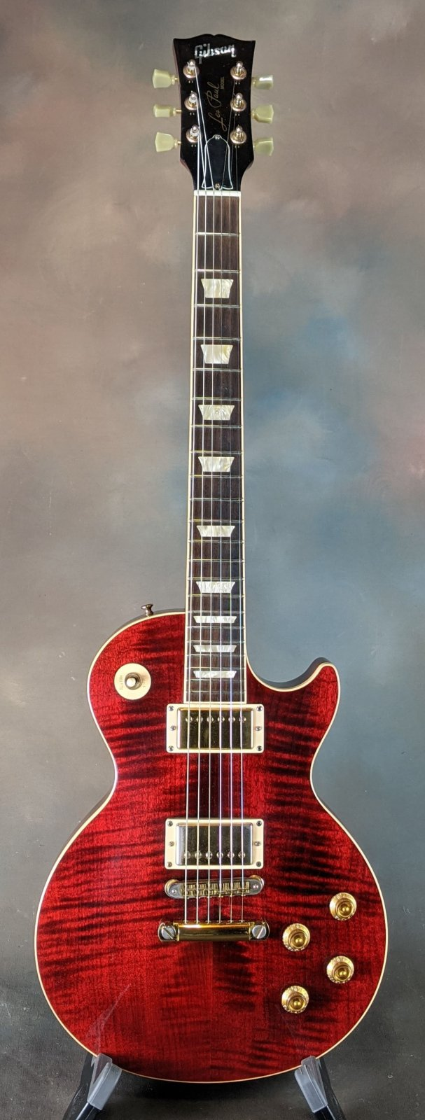 2005 Gibson Les Paul Standard Plus Top - Wine Red