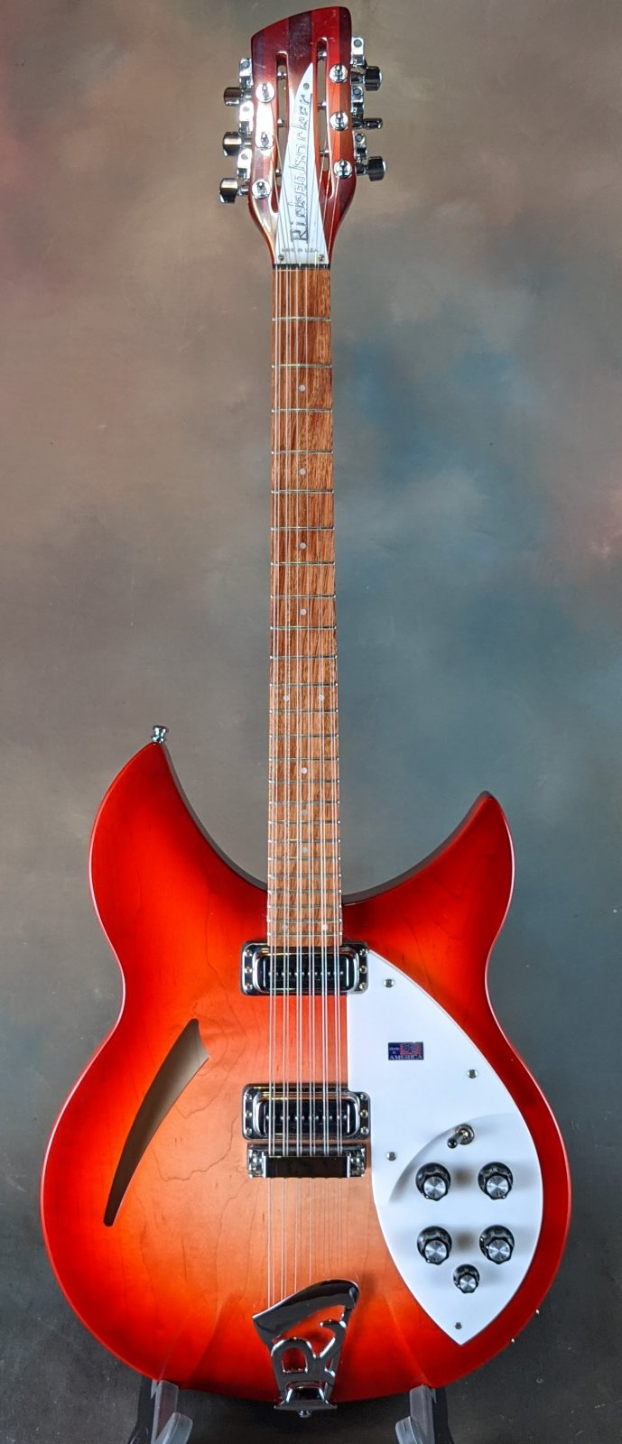 2009 Rickenbacker 330/12 Electric 12-String - Fireglo