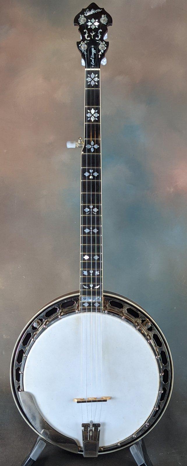 Used Gibson Earl Scruggs Banjo