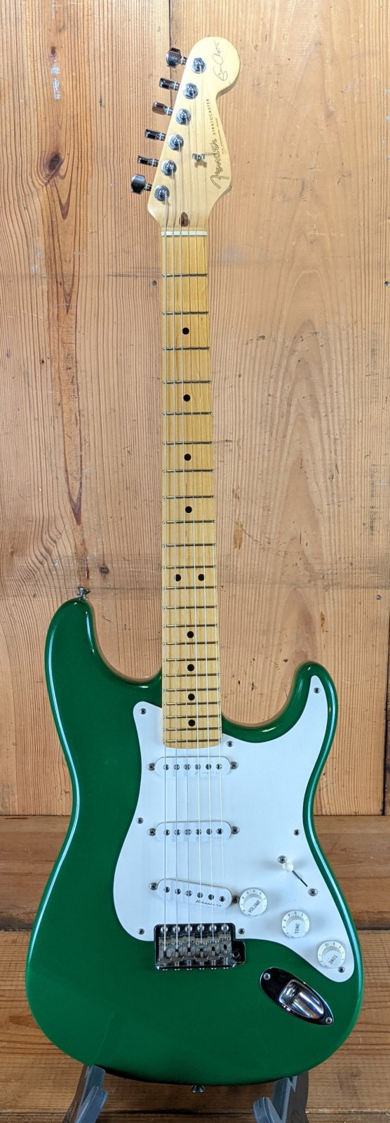 1989 Fender Eric Clapton Signature Stratocaster - 7-UP Green!