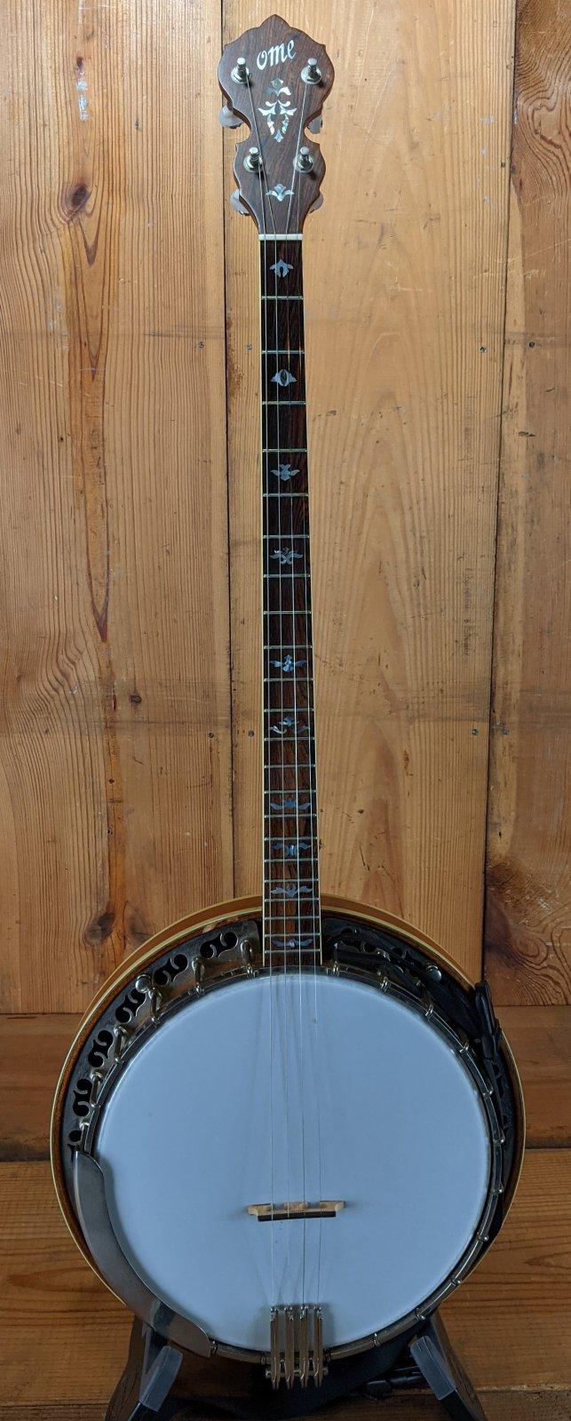 Used Ome Juniper Plectrum Banjo