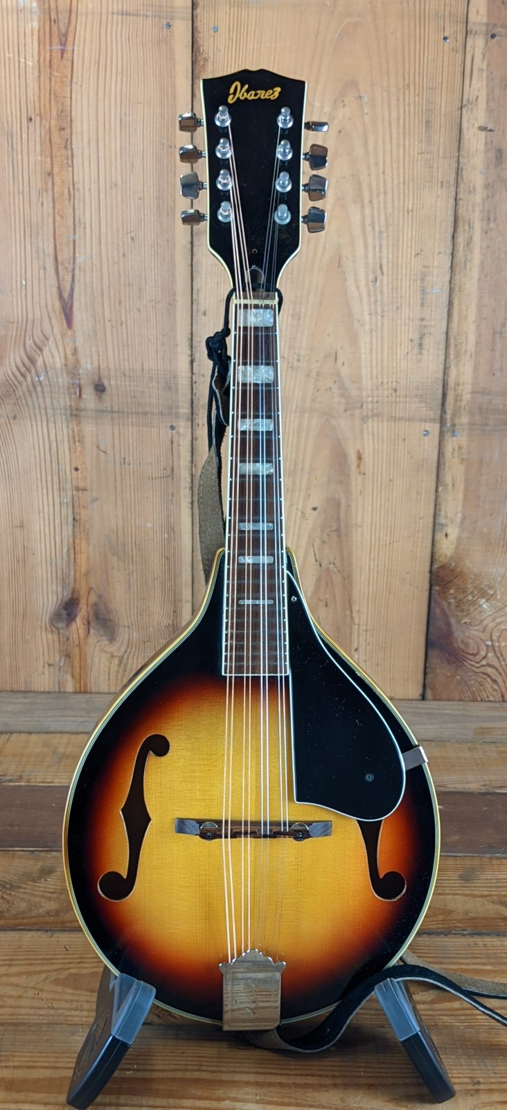 1970s Ibanez A-Style Mandolin with Hard Shell Case