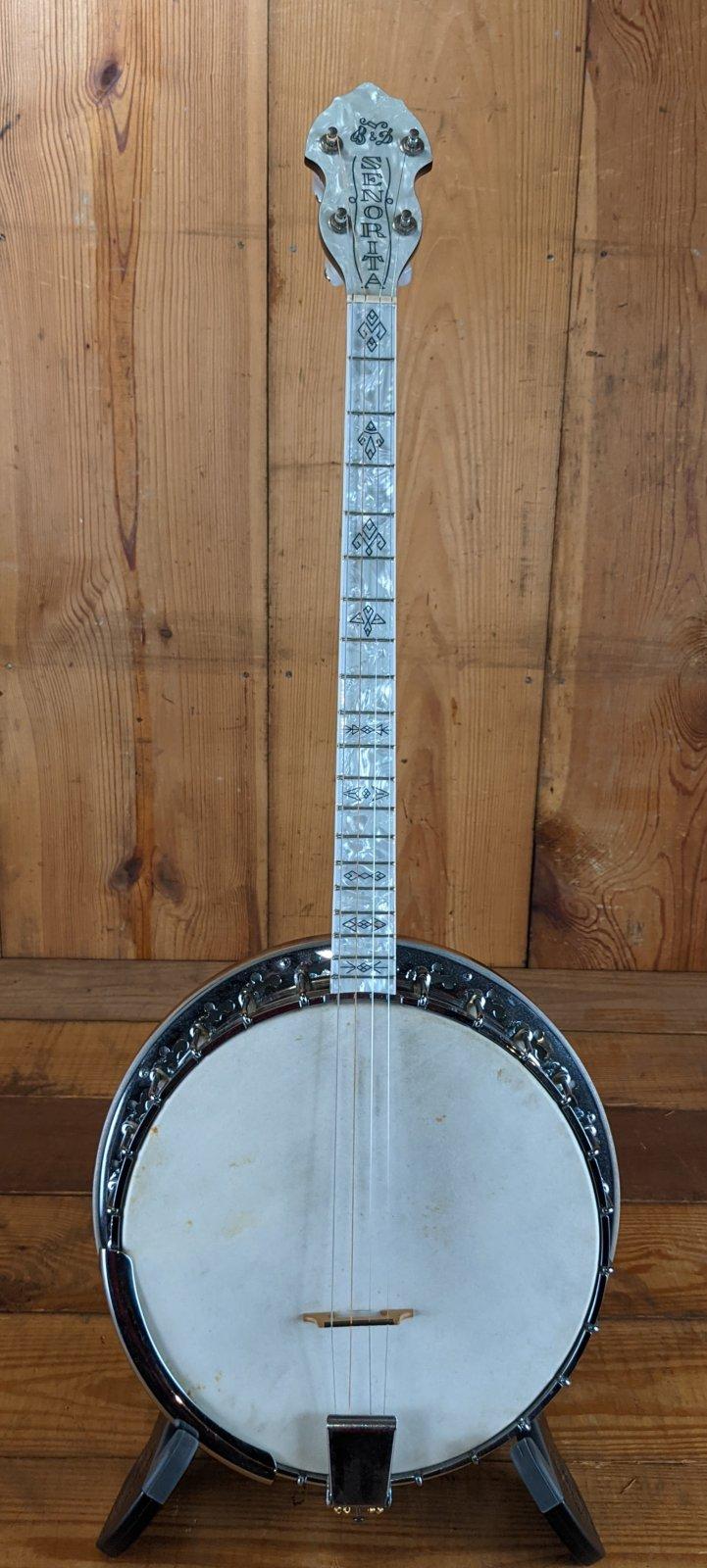 Vintage Bacon & Day Senorita Tenor Banjo