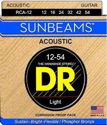 DR Sunbeam Phosphor Bronze Acoustic Strings