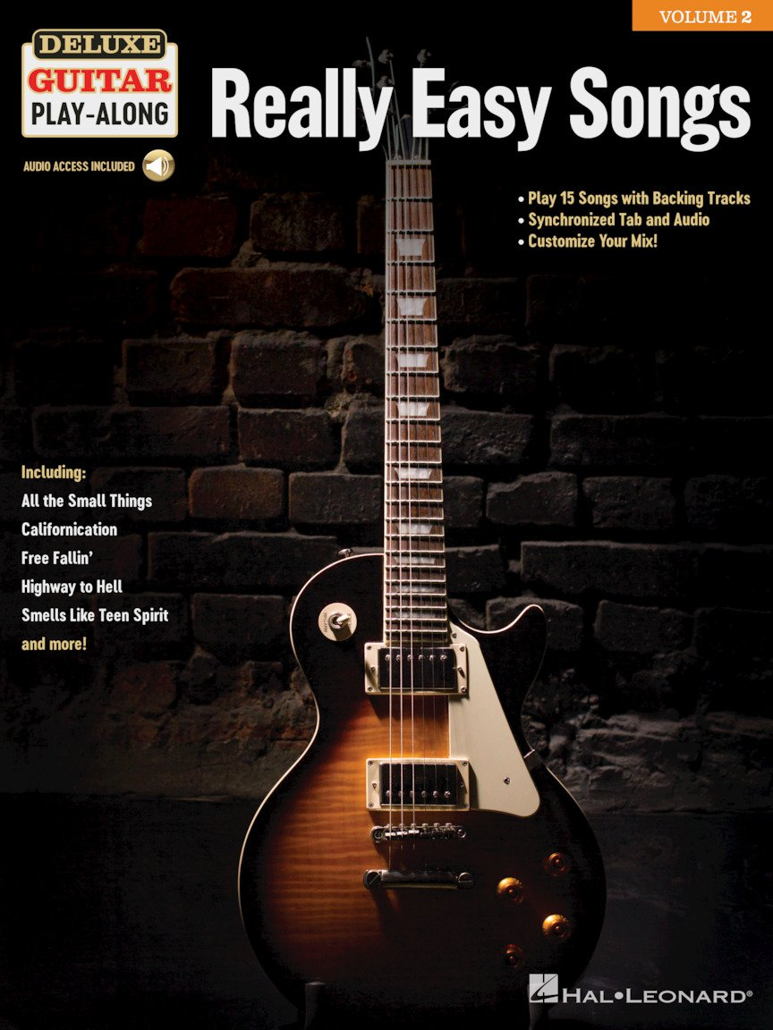 Really Easy Songs - Deluxe Guitar Play-A-Long