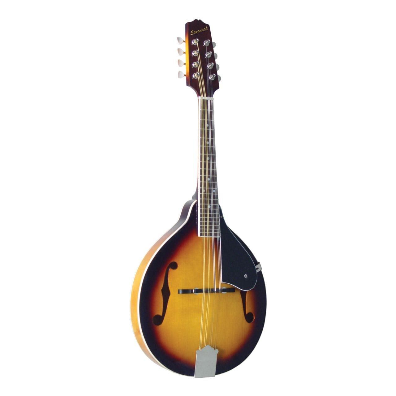 Savannah SA120 A-style Mandolin, Sunburst
