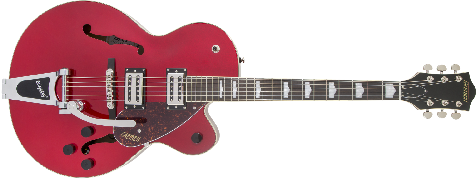 G2420T Streamliner Hollow Body with Bigsby