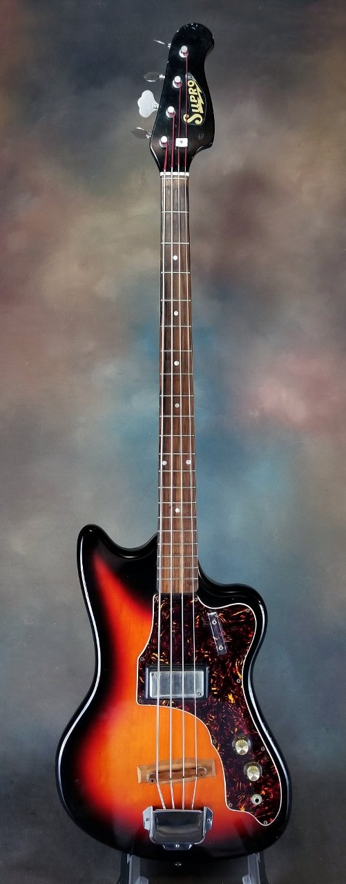 1966 Supro Taurus S685 Electric Bass