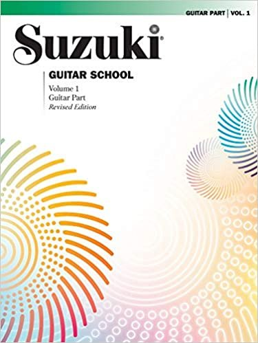 Suzuki Guitar School Volume 1 Guitar Part
