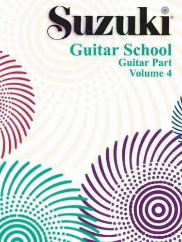 Suzuki Guitar School Volume 4 Guitar Part