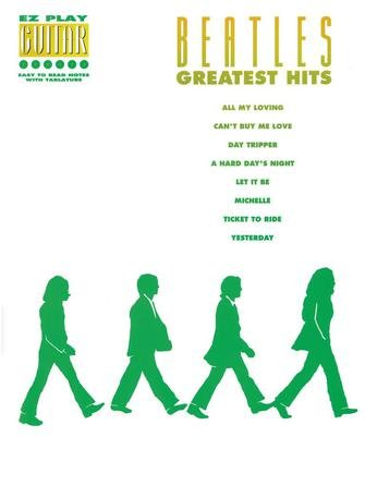 The Beatles Greatest Hits EZ Play Guitar