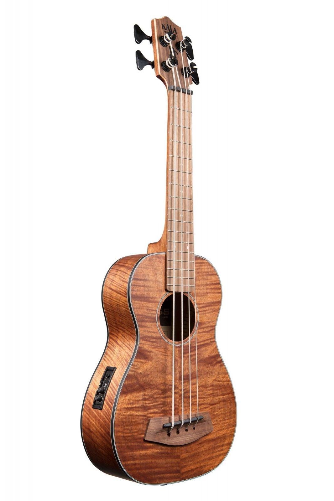 Kala UBASS-EM-FSRW Exotic Mahogany w/Round Wound Strings