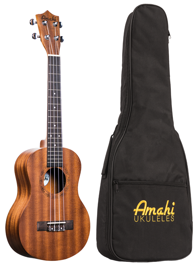 Amahi UK210T Tenor Uke w/ Padded Bag