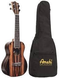 Amahi UK990T Classic Ebony Tenor w/ gig bag