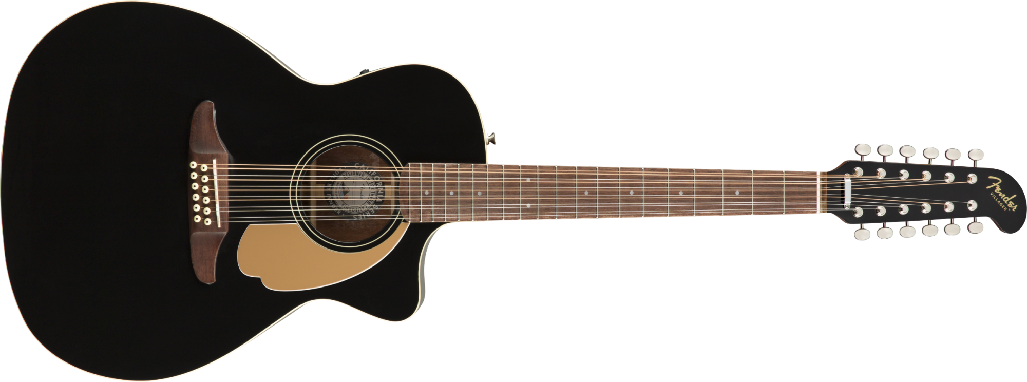 Fender Villager 12-String, Black