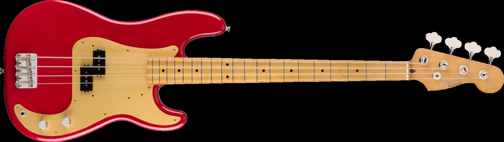 Fender Vintera '50s Precision Bass, Dakota Red