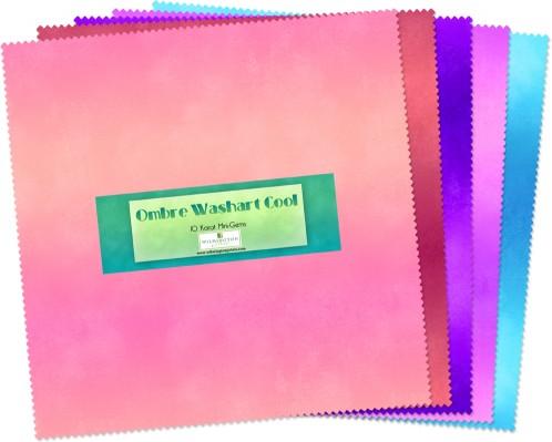 10 Karat Mini Gems Ombre Washart Cool