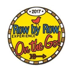 2017 Row by Row On the Go! pin
