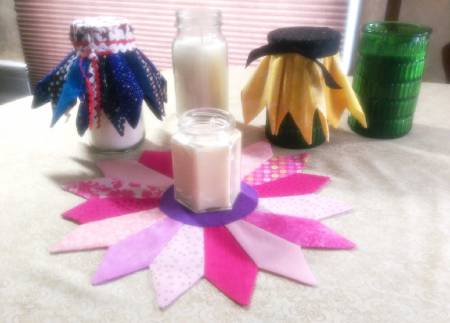Cut Loose Press - Candle Flower Wrap
