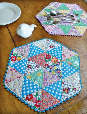 Cut Loose Press - Happy Star Placemat