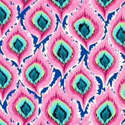 Delilah Feathers Pink