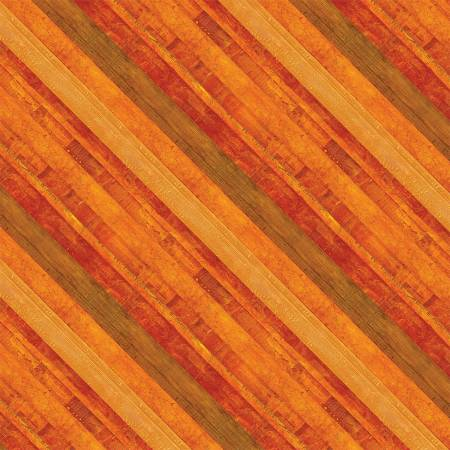 Amber Reflections Diagonal Stripe
