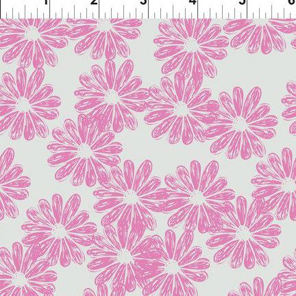 Doodle Blossoms Daisies Lavendar