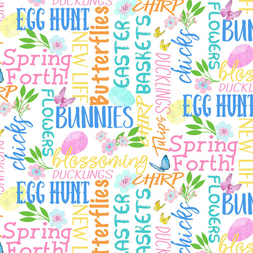 Easter Parade Words