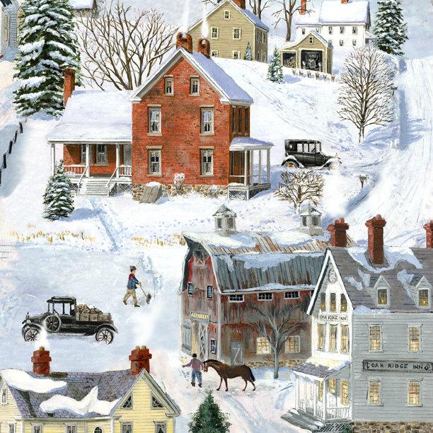 After the Snow Scene Multi