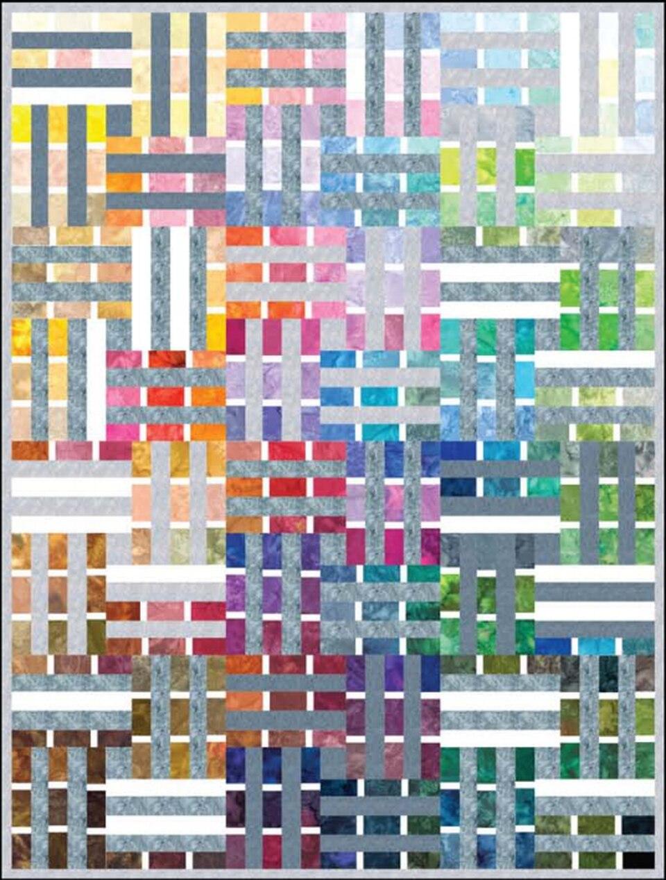 Watercolor Palette Pattern