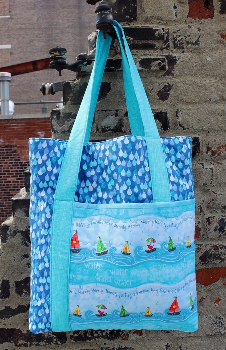 Row By Row 2015 Tote Pattern