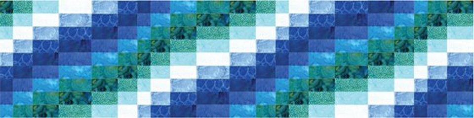 Watercolor Wave Pattern
